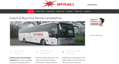Preview of macphailscoaches.co.uk